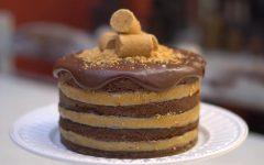 Bolo Paçoca Com Chocolate – Receita