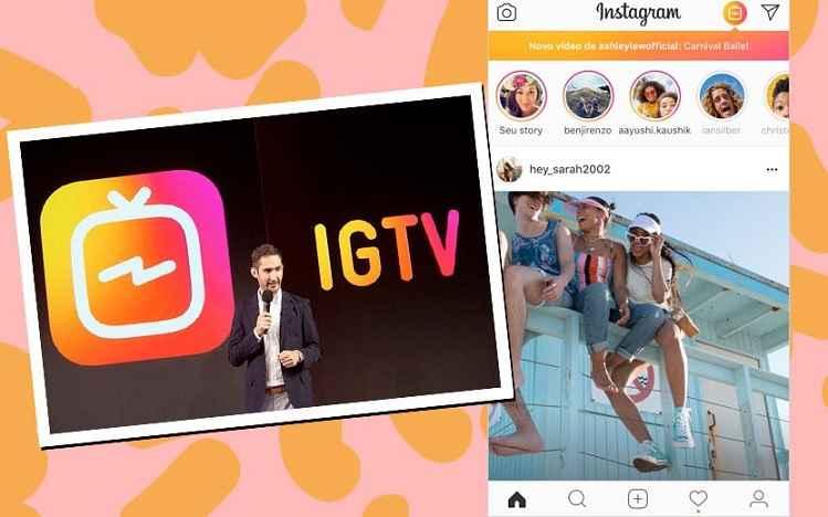 Instagram Aplicativo Para Vídeos - Lançamento E Como Usar