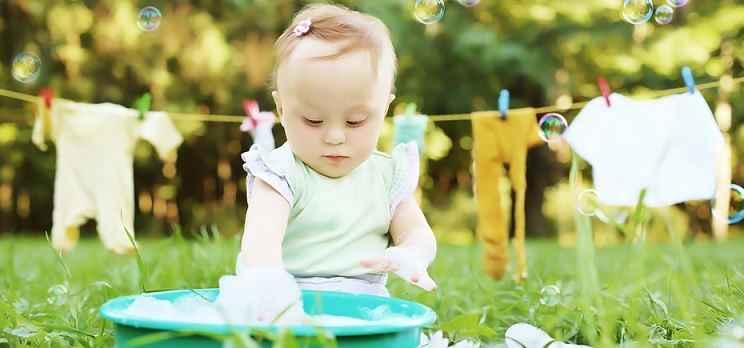 Lavar Roupas de Bebê - Dicas