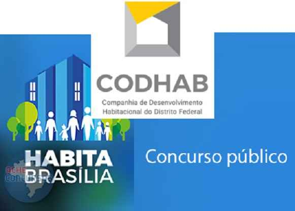 Concurso Público Na CODHAB-DF - Inscrições