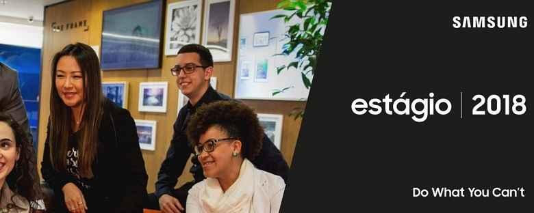 Estagio Sansung Eletronics Brasil - Inscrição
