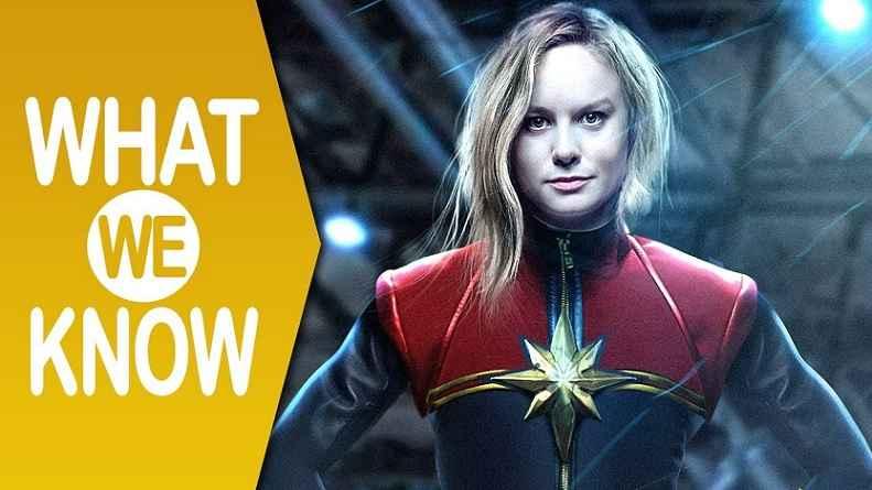 Filme Capitã Marvel - Novidades