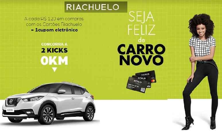 Promoção Riachuelo Seja Feliz de Carro Novo – Como Participar