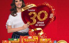 Promoção Sazon 30 Anos de Amor – Como Participar