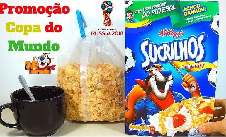 Promoção Sucrilhos Kellogg´s Viva Toda Energia do Futebol – Como Participar