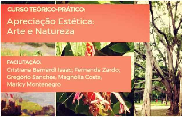 Curso de Apreciação Estética Arte e Natureza – Gratuito