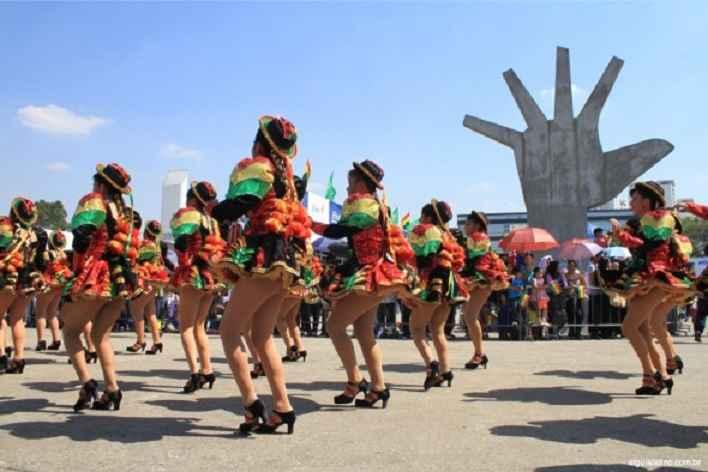 Festa da Independência Boliviana – Gratuita