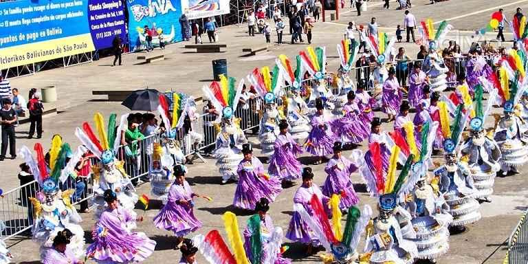 Festa da Independência Boliviana - Gratuita
