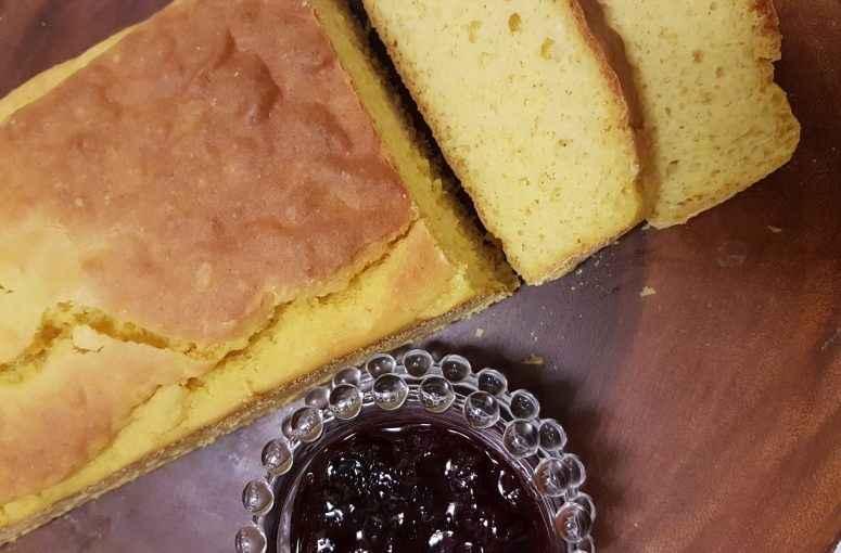 Pão de Milho Sem Gluten – Receita