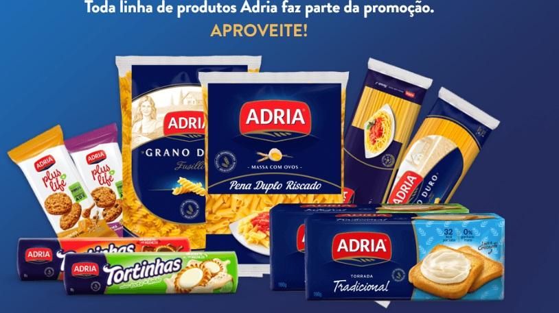 Todos os produtos da Adria participam da promoção