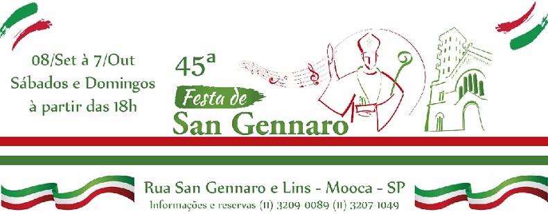 Festa de San Gennaro - Atrações