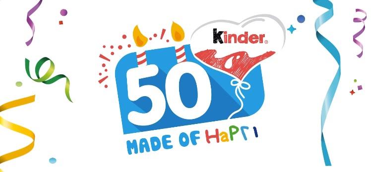 Promoção Kinder 50 Anos – Como Participar
