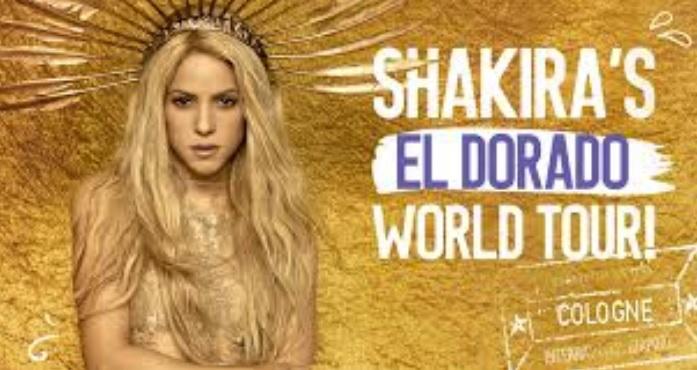 Show de Shakira No Brasil – Ingressos