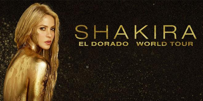 Show de Shakira No Brasil - Ingressos