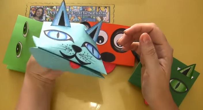 Fantoche de Papel Dia Das Crianças – Material e Vídeo
