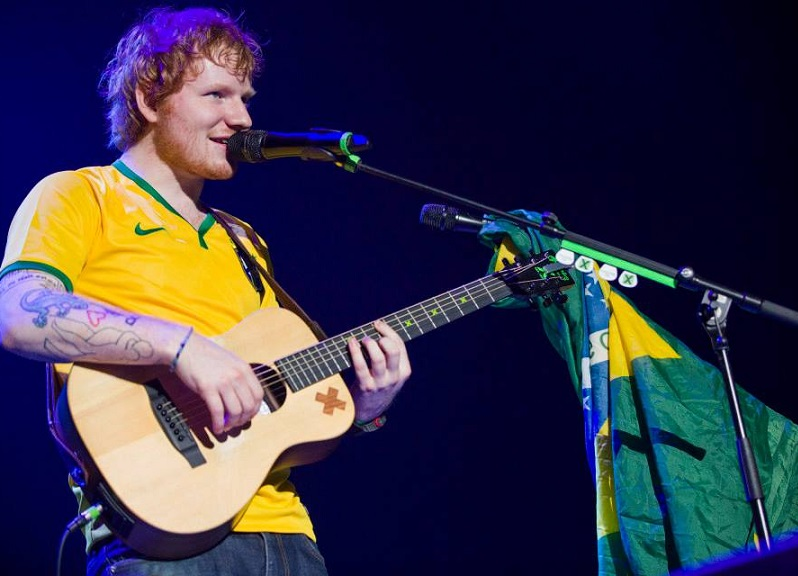 Shows no Brasil de Ed Sheeran – Ingressos