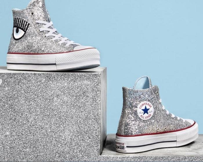 Tênis All Star Coberto Por Glitter - Novidade