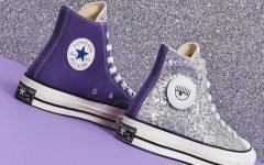 Tênis All Star Coberto Por Glitter – Novidade