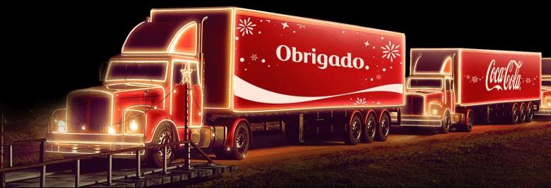 Caravana de Natal da Coca-Cola 2018 - Trajetos