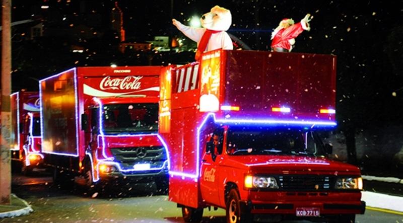 Caravana de Natal da Coca-Cola 2018 – Trajetos