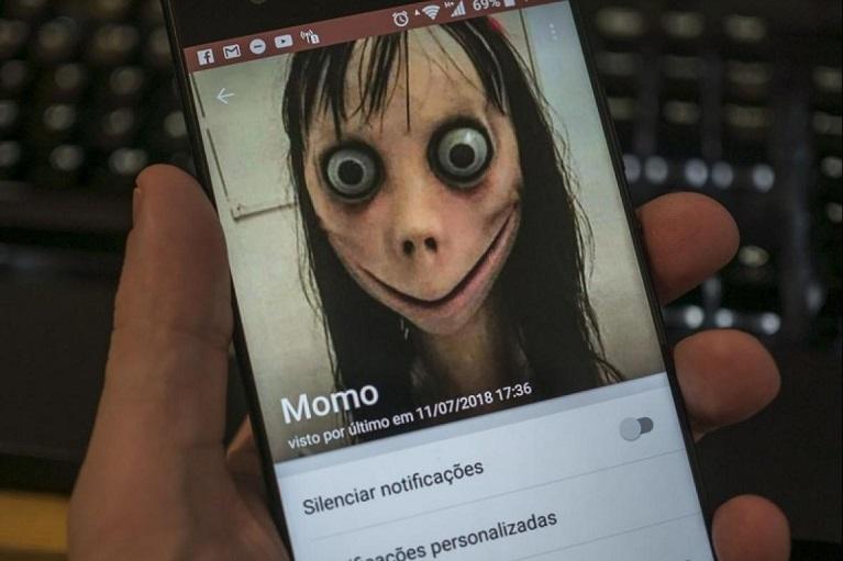 Jogo da Boneca Momo – Perigos da Internet