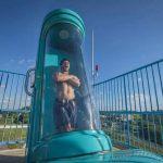 Maior Toboágua Com Capsula do Mundo – Inaugurado no Brasil