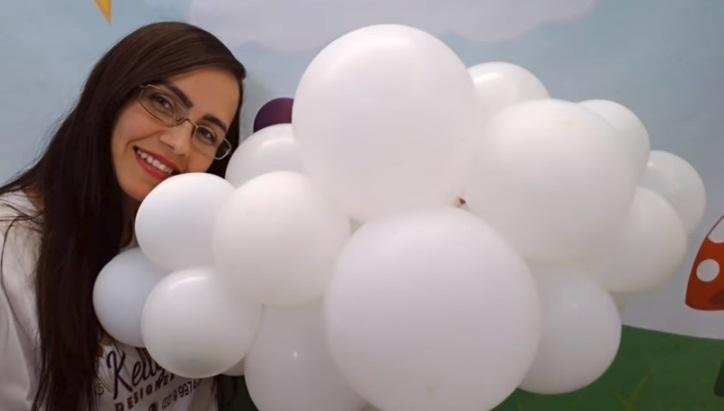 Nuvem de Balão Para Decoração - Material e Vídeo