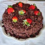 Torta de Brigadeiro e Morango – Receita
