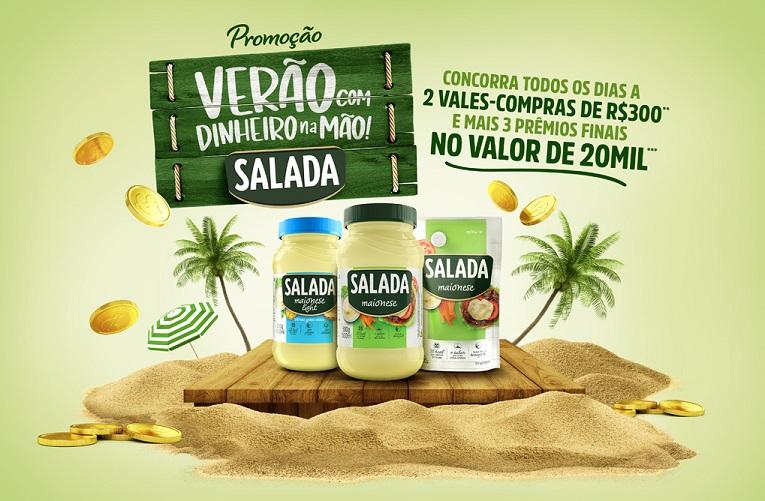 Promoção Soya e Salada Verão com Dinheiro na Mão - Como Participar