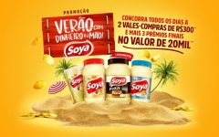 Promoção Soya e Salada Verão com Dinheiro na Mão – Como Participar
