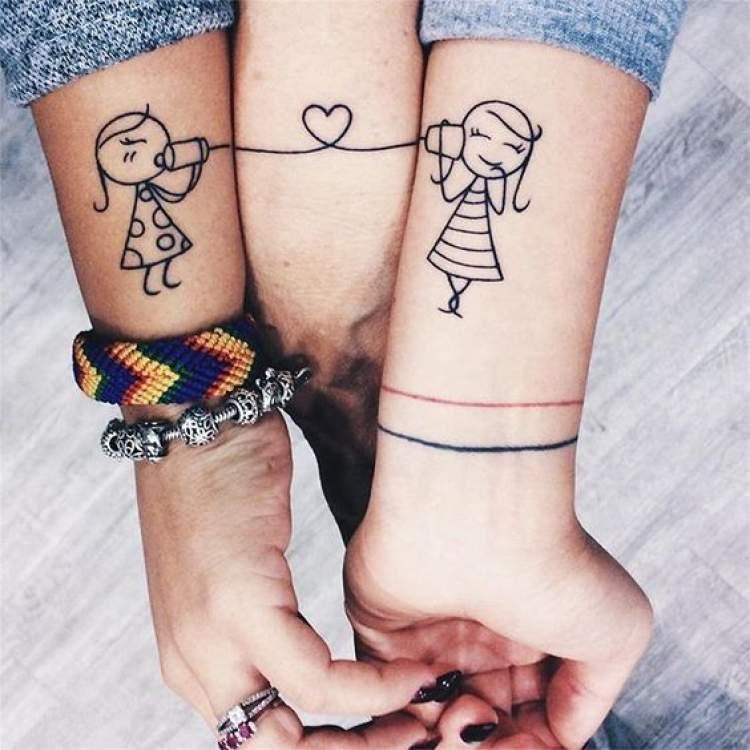 Tatuagem Mãe e Filha– Dicas de Modelos