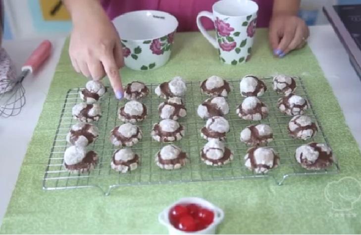Biscoito ou Cookie Craquelado de Chocolate – Receita