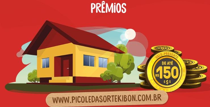 Promoção Kibon Picolé da Sorte - Como Participar