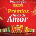 Promoção Sazón Prêmios Cheios de Amor – Como Participar