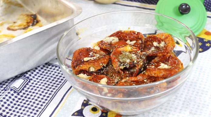 Tomate Seco Caseiro - Receita
