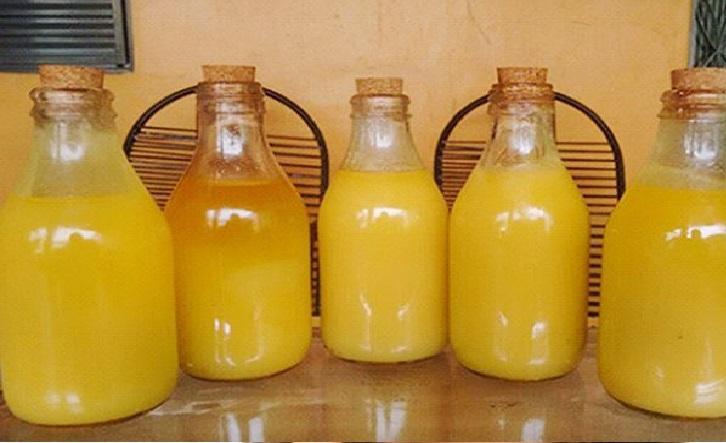 Manteiga de Garrafa - Receita