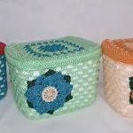 Maleta Organizadora Com Pote de Sorvete Em Crochê - Material e Vídeo