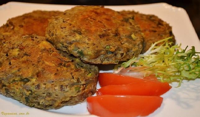 Hambúrguer de Lentilha – Receita Vegana