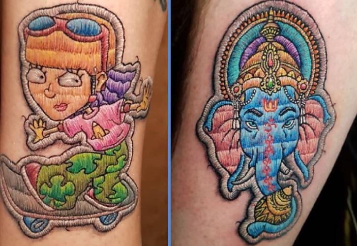 Tatuagem Técnica Bordado – Dicas