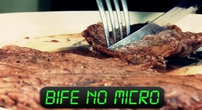 Bife No Microondas Sem Óleo – Receita