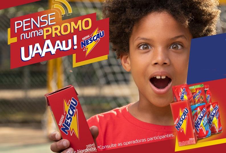 Promoção Nescau Pense Numa Promo Uaaau – Como Participar e Prêmios