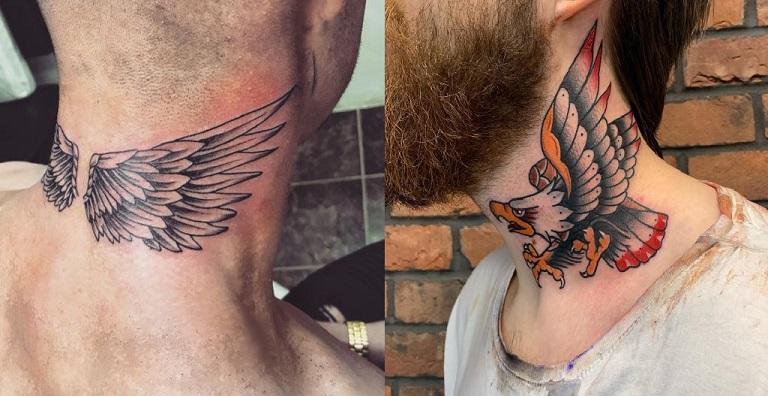 Tatuagens no Pescoço - Dicas