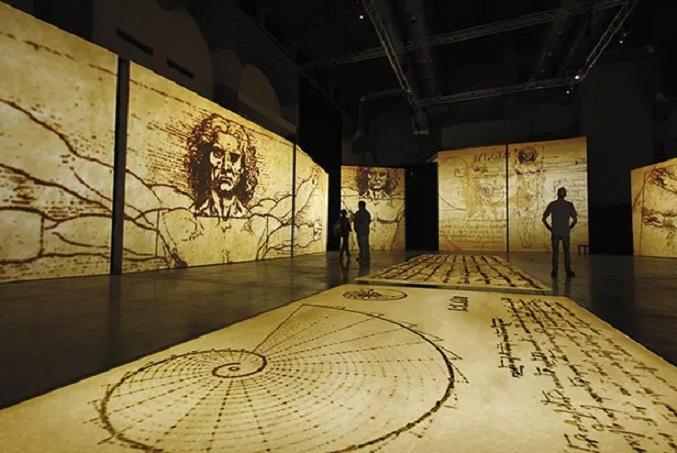 Exposição de Leonardo Da Vinci - Data