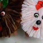 Chaveirinho Cachorrinho Com Lã - Material e Vídeo