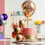 Decoração de Bolo Com Balão - Dicas