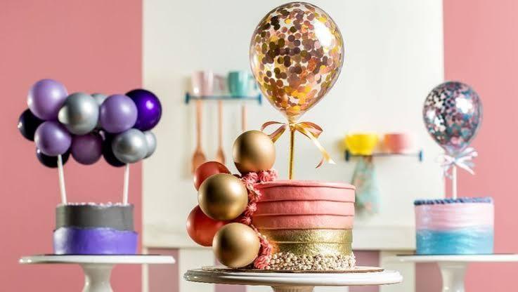 Decoração de Bolo Com Balão – Dicas