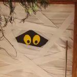 Enfeite Para Porta Halloween - Material e Vídeo