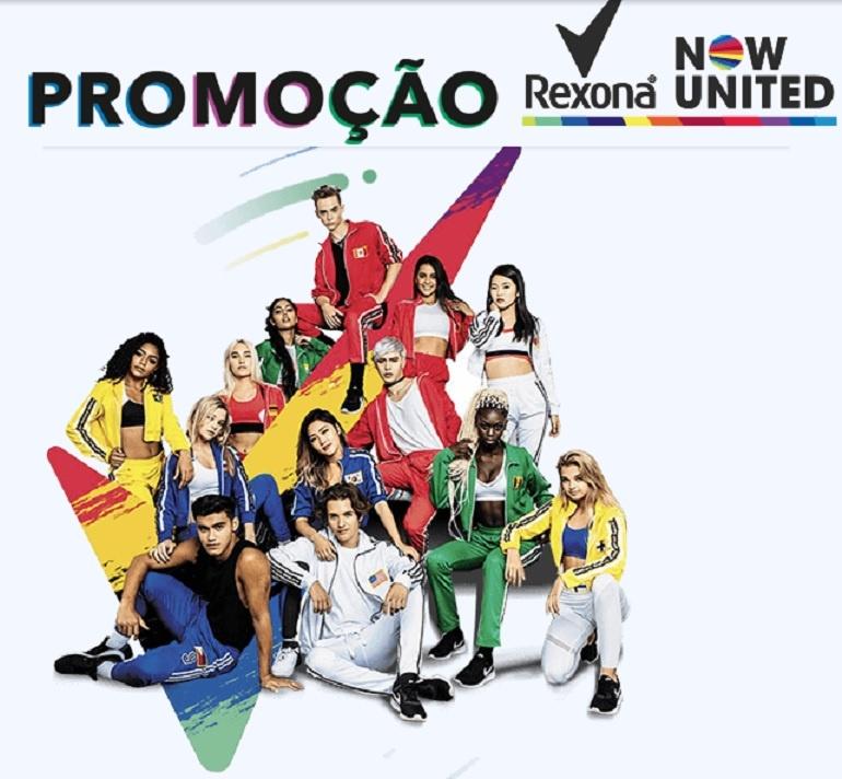 Promoção Rexona Now United - Como Participar