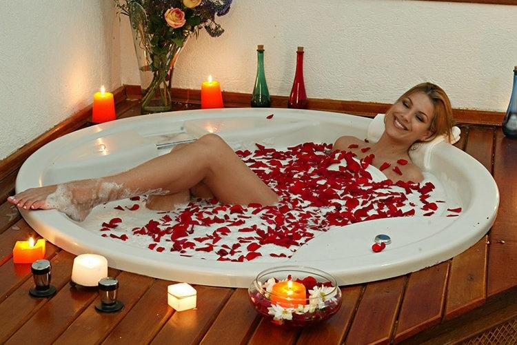 Banho Relaxante na Banheira - Dicas
