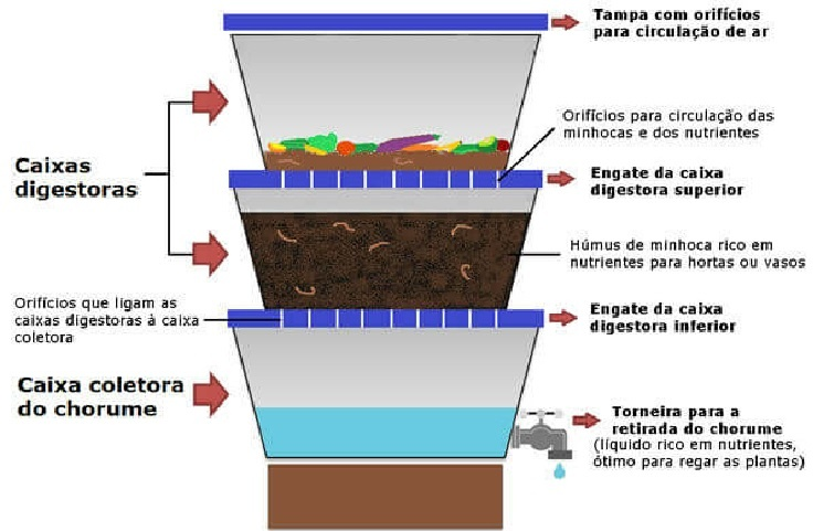 Composteira Caseira – Como Fazer